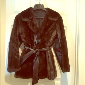 Jackets & Blazers - Fur and leather jacket